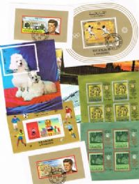 10 different Sharjah Souvenir and Miniature Sheets packet